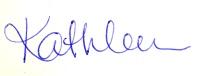 Kathleen Signature